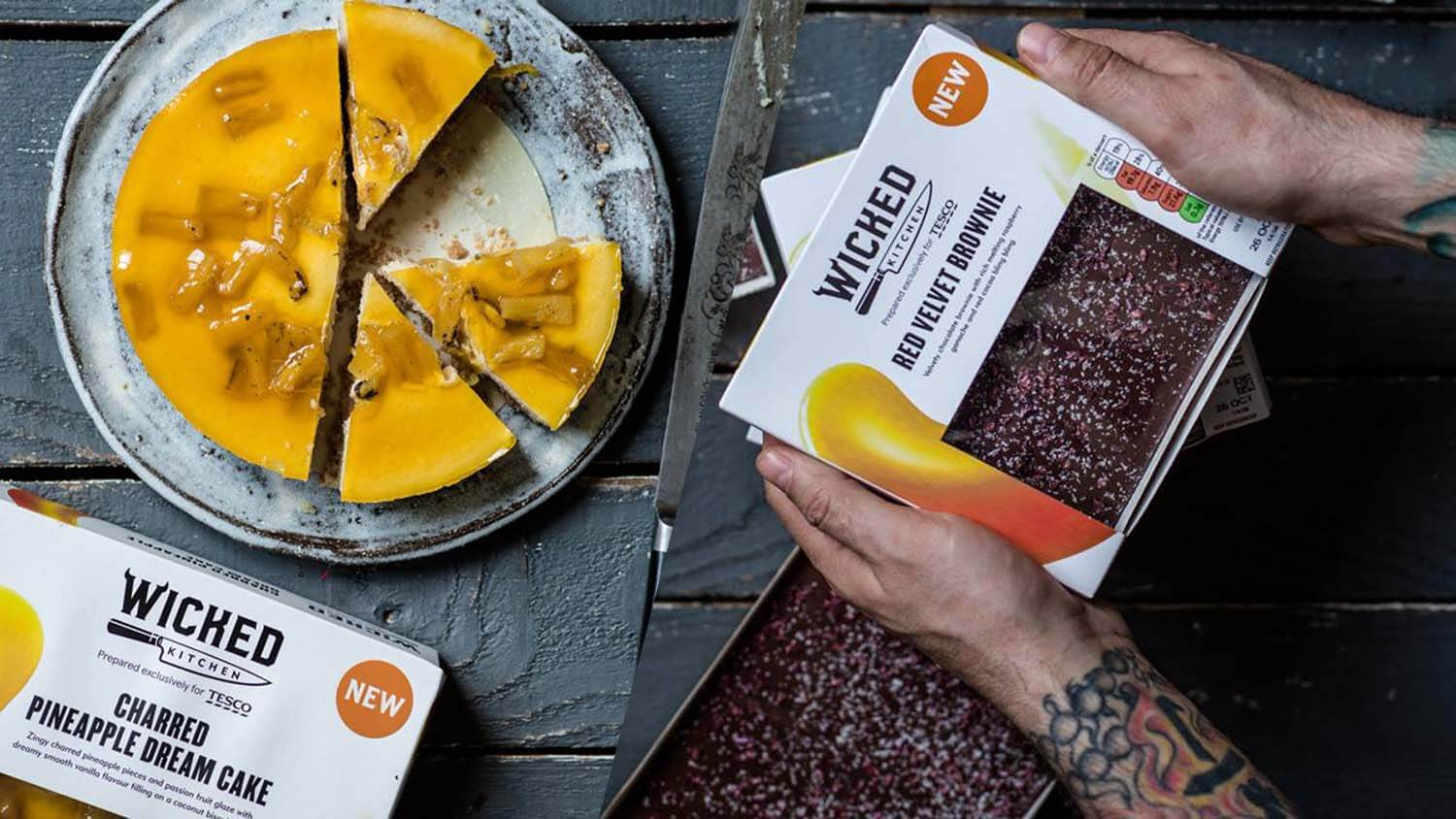 Tesco More Than Doubles Vegan Ready Meal Range With 26 New Wicked Kitchen Products