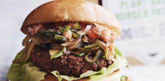 London Restaurant Halo Burger Serves the Bleeding Vegan Beyond Burger ... and Nothing Else