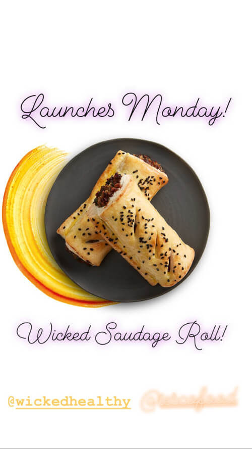 Tesco Launches Vegan Wicked Healthy Sausage Rolls and Lasagne