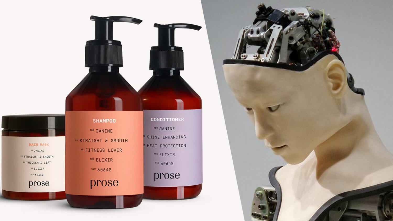 Vegan Shampoo Brand Prose Is Being Perfected By Artificial Intelligence