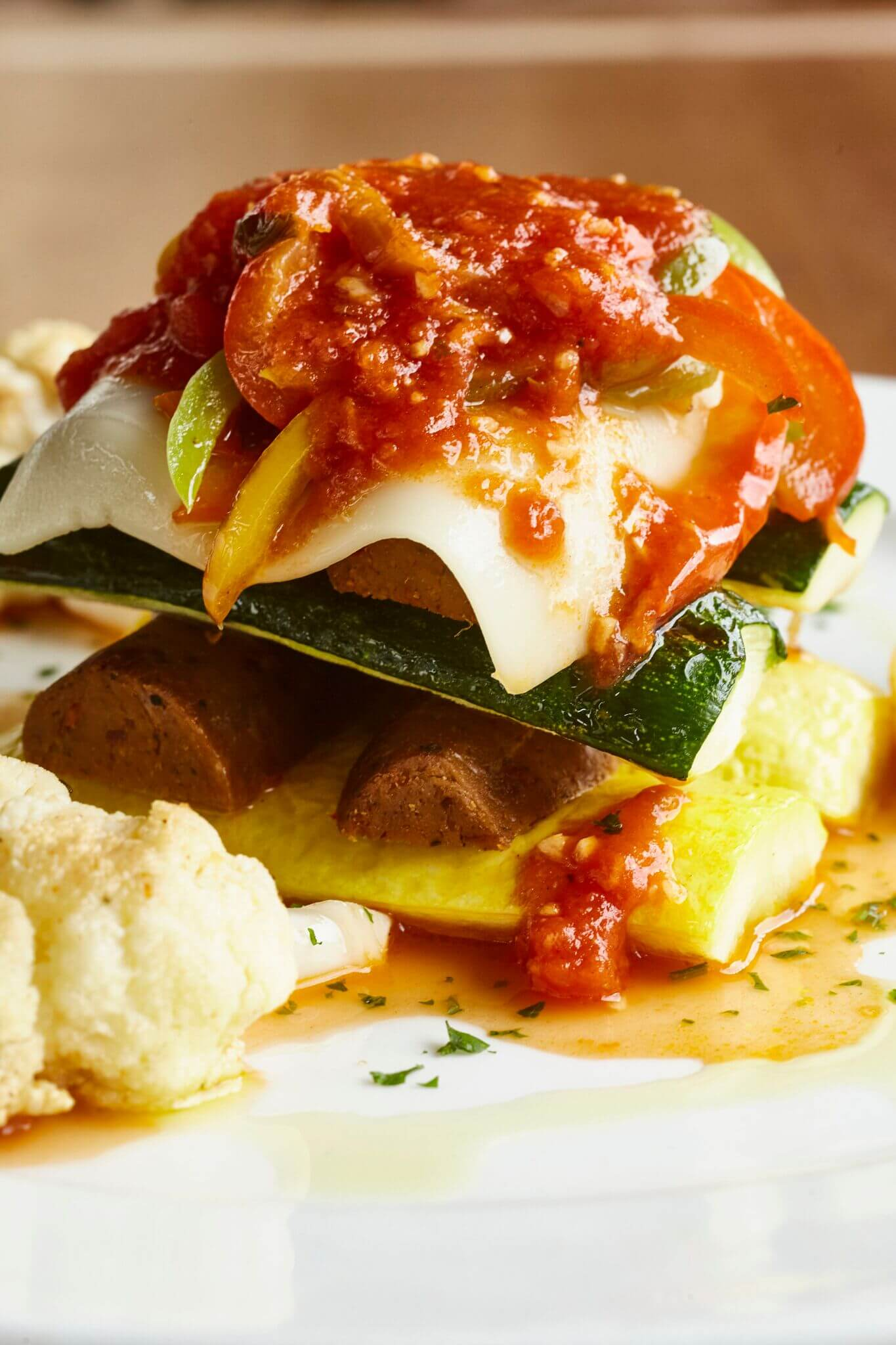 Dallas Steakhouse Al Biernat's Launches Vegan Menu Featuring Tofurky Sausage Lasagne