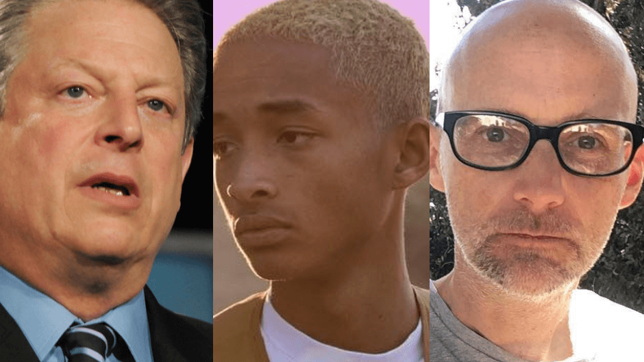 Vegan Celebs Moby and Jaden Smith to Appear on Al Gore's Climate Change TV Special '24 Hours of Reality'
