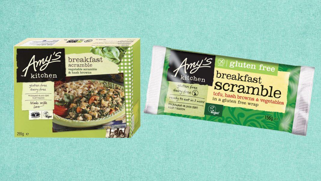 Amy's Kitchen Launches Vegan Breakfast Scrambles in Waitrose and Ocado