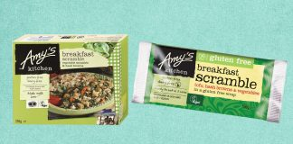 Amy's Kitchen Launches Vegan Breakfast Scrambles in Waitrose and Ocado