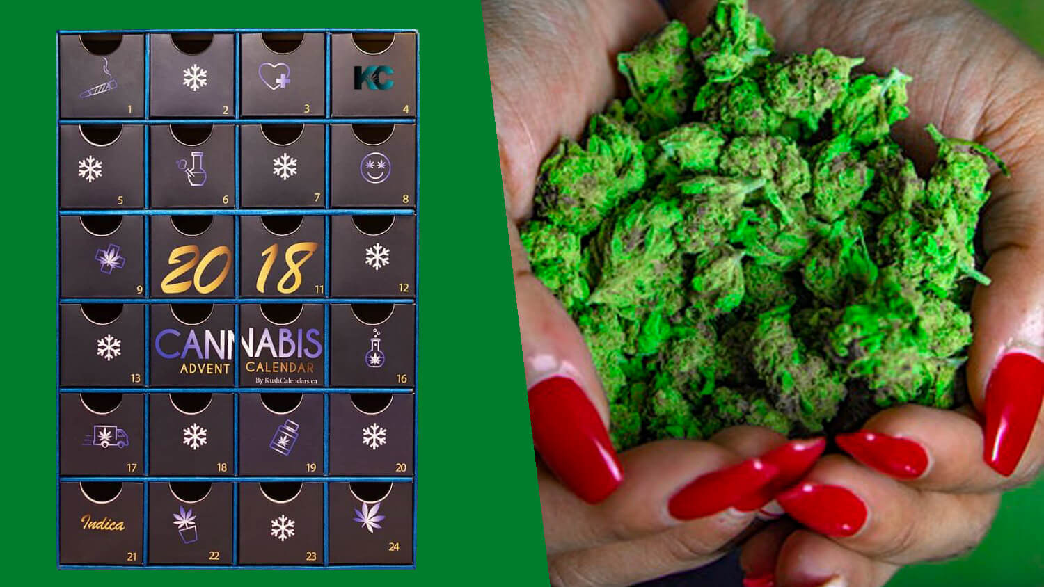 These Kush Christmas Advent Calendars Are Literally Just Canadian Cannabis