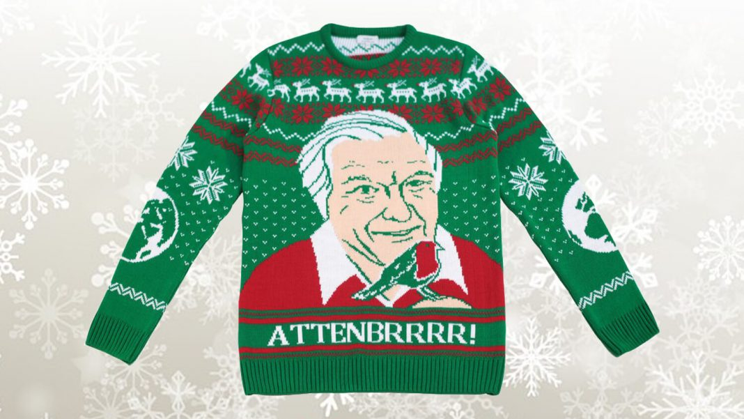 Vegan David Attenborough-Themed Christmas Jumpers Help the Homeless