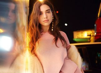 Dua Lipa Is Head to Toe in Vegan Fur By Stella McCartney