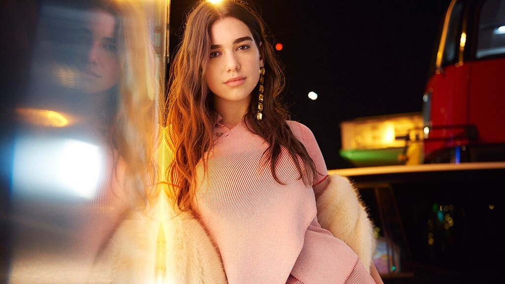 Dua Lipa Is Head to Toe in Vegan Fur By Stella McCartney
