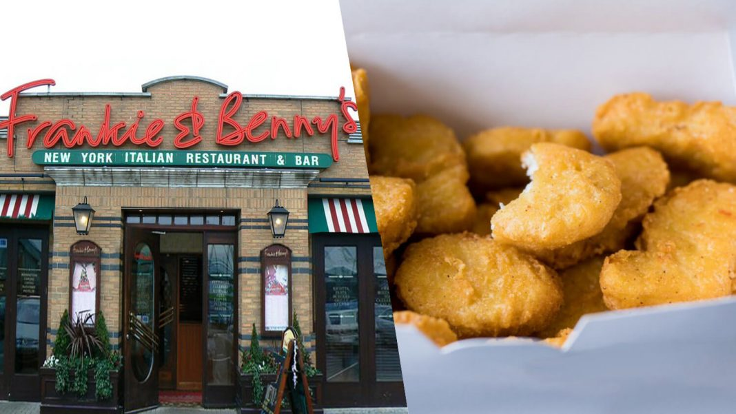 Frankie & Benny's Launches Vegan Chicken Nuggets
