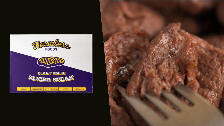 Vegan UK Supermarket GreenBay Launches Harmless Foods Plant-Based Steak