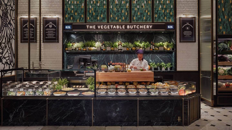 Iconic Luxury Department Store Harrods Opens 'Vegetable Butchery'