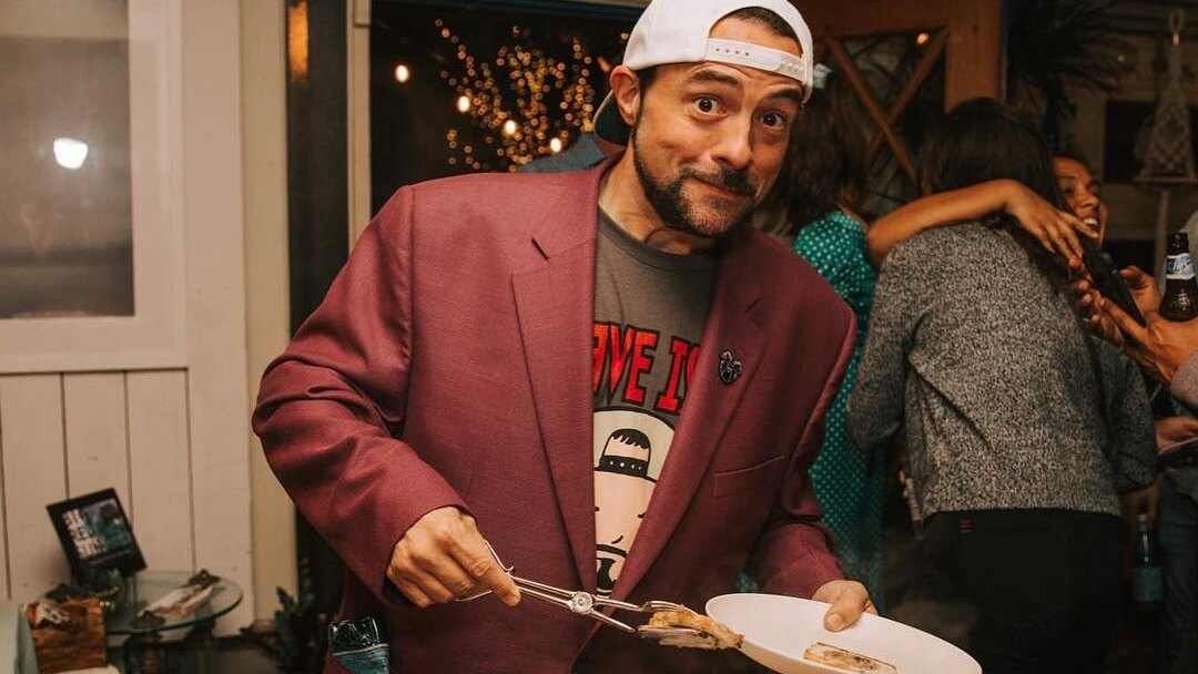 Vegan Filmmaker Kevin Smith Had 'Friendsgiving' Dinner With Veggie Grill