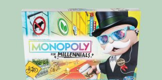 Players Can Be Vegan But Can't Buy Real Estate in the Monopoly for Millennials Game