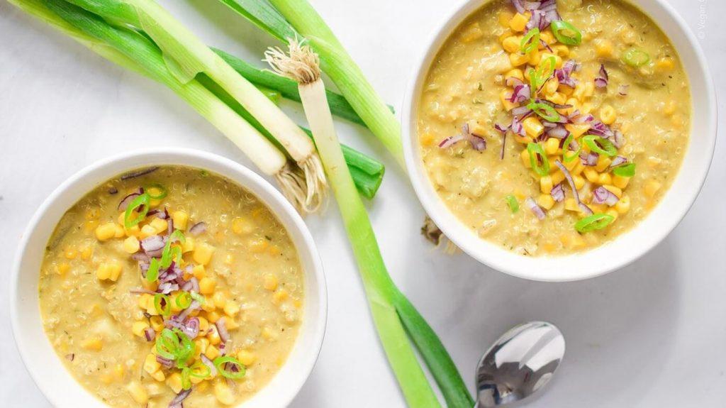 Simple, Spicy, and Dairy-Free: Vegan Potato Corn Chowder Recipe