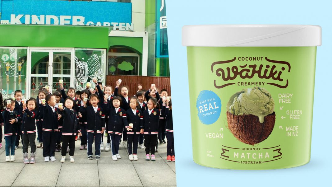 Vegan Ice Cream Startup 'Wahiki Creamery' Lands Contract With China's Biggest Childcare Center 'Cathay Future'
