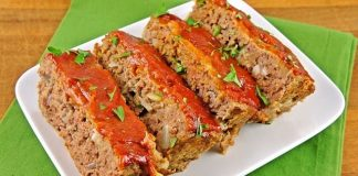 Healthy Vegan Mushroom and Lentil Meatloaf