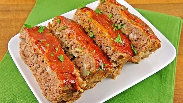 Healthy Vegan Mushroom and Lentil Meatloaf