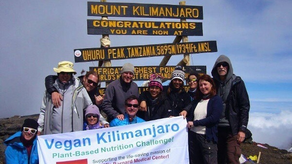 Vegan Climbers to Scale Mount Kilimanjaro to Benefit Physicians Committee for Responsible Medicine