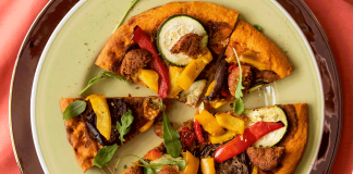 Waitrose Launches Low-Carb Vegan Falafel Pizza