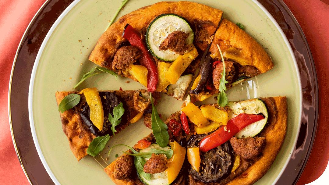 Waitrose Launches Low-Carb Vegan Falafel Pizza