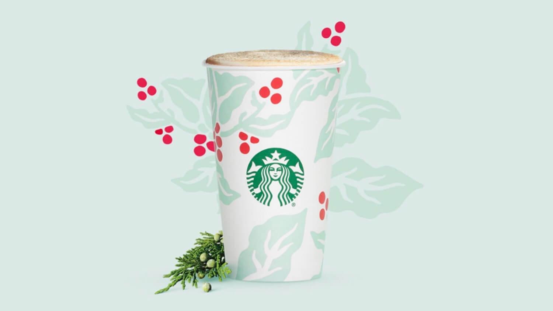 Starbucks' Vegan-Friendly Christmas Pine Tree Juniper Latte Helps Support Global AIDS Research