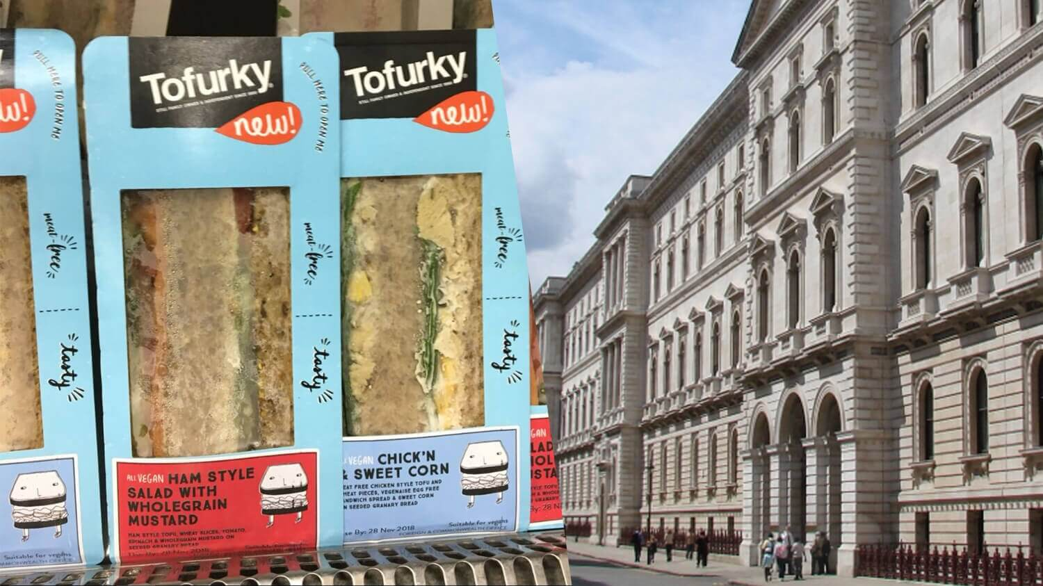 Vegan Tofurky Sandwiches Launch at UK's Foreign & Commonwealth Office