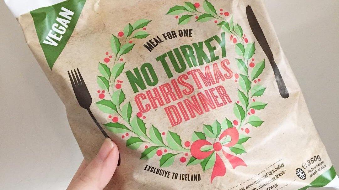 UK Supermarket Chain Iceland Launches Vegan Christmas Turkey Dinner 'For One'