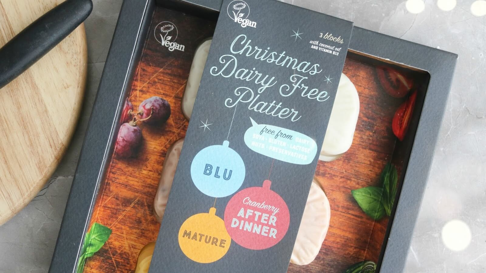 Violife Launches Vegan Christmas Cheese Platter Featuring Dairy-Free Blu, Mature, and Cranberry