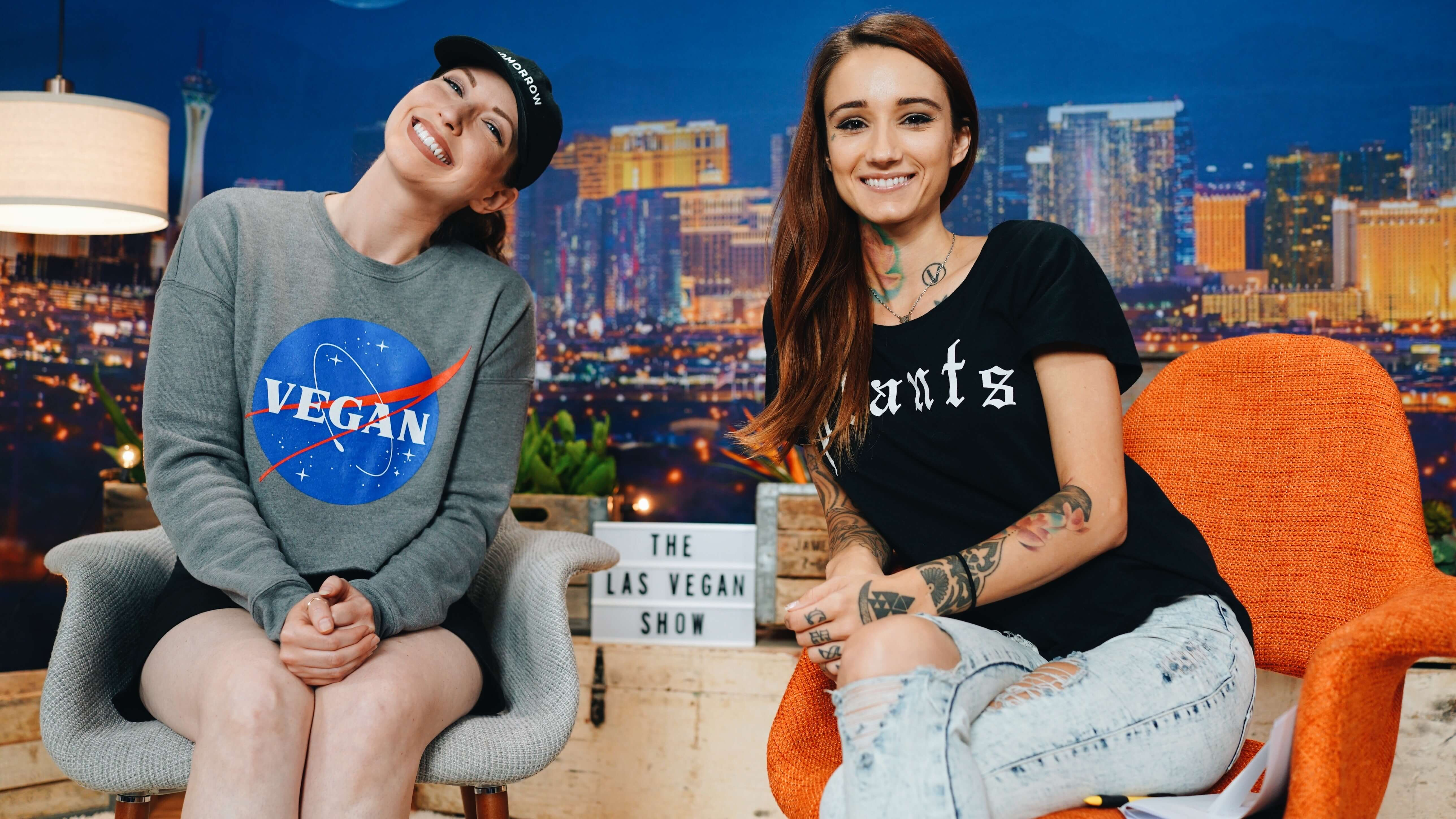 'The Las Vegan Show' Brings a 'Tonight Show' Style Approach to the Vegan Diet