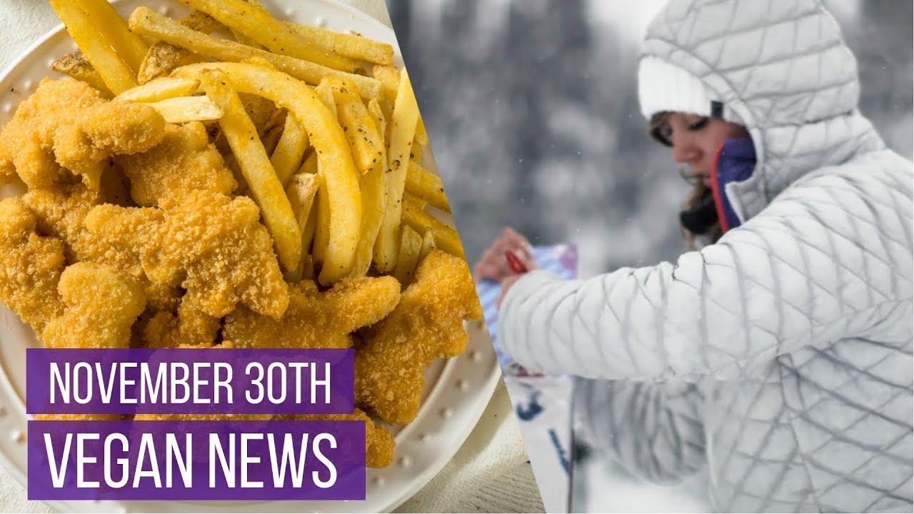 Vegan News Roundup 30th November 2018