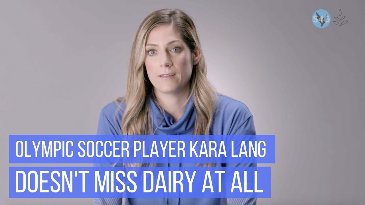 Olympic Soccer Player Kara Lang Says She Doesn't Miss Dairy At All