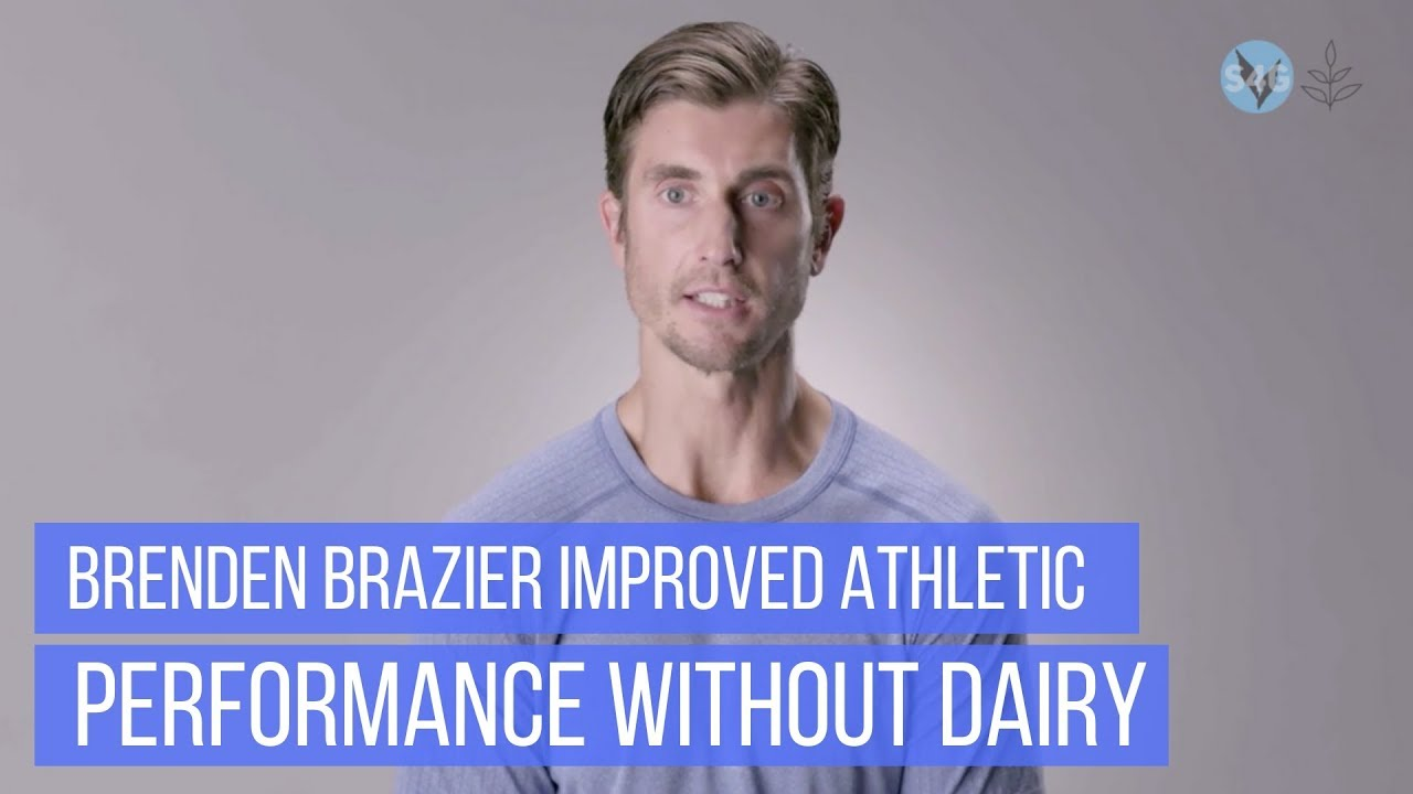 Ironman Triathlete Brendan Brazier Improved His Athletic Performance By Ditching Dairy