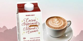 Dairy-Free Peppermint Coffee Creamer Is Back At Trader Joe's