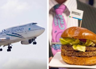Air New Zealand Brings Vegan Impossible Burgers to the UK