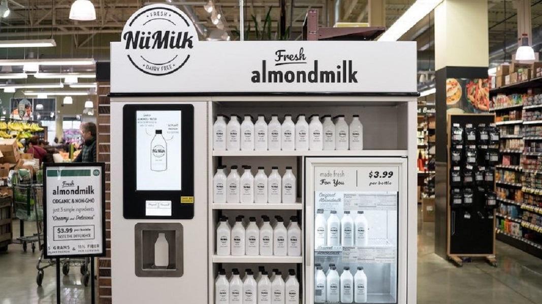 DIY Vegan Almond Milk Machines By NüMilk Arrive at Whole Foods