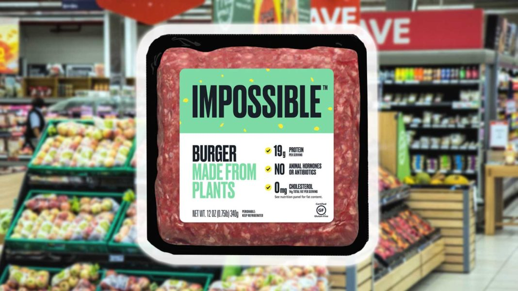 The Impossible Burger Finally Arrives in Supermarkets