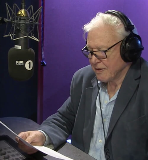 92-Year-Old Naturalist David Attenborough Will Try to Heal the World With His Old Tribal Sound Recordings on a BBC DJ Session