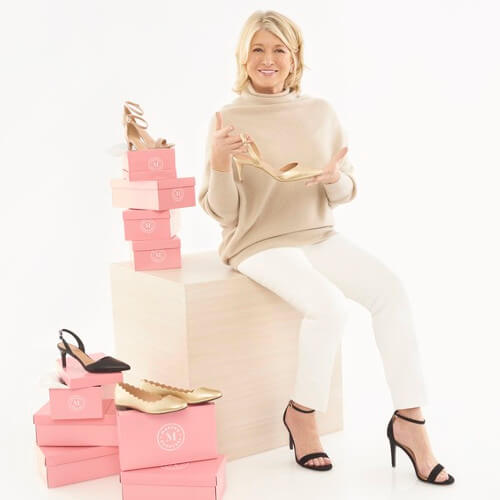 Martha Stewart Launches Vegan Leather Shoe Range 'Martha Everyday' at Payless