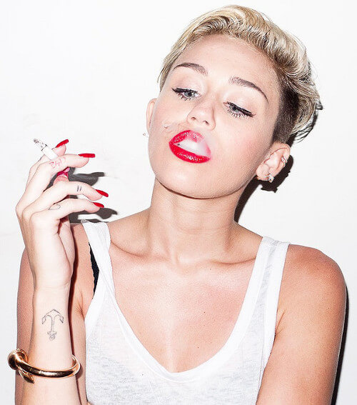 Vegan Celeb Miley Cyrus is Helping to De-Stigmatize Cannabis Culture and Feminism