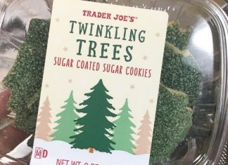 Trader Joe's Launches Vegan Twinkling Christmas Tree Holiday Cookies