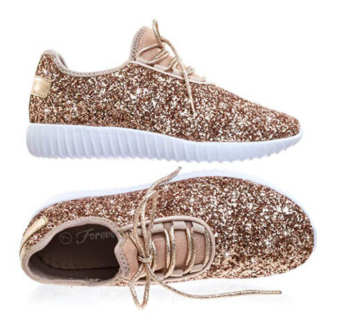 You Can Now Get $20 Vegan Forever Link Rose Gold Sneakers on Amazon