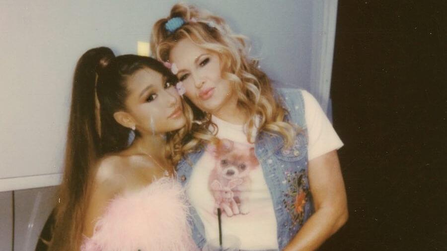 Vegan Singer Ariana Grande Wears 'I Am Furless' Faux Fur Jacket by Luxury Marei1998 Designer Maya Reik