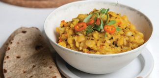 Healing Ayurvedic Vegan Mung Bean Kitchari Recipe