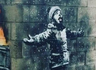 New Banksy Mural in Wales Tackles One of the UK's Worst Industrial Polluters