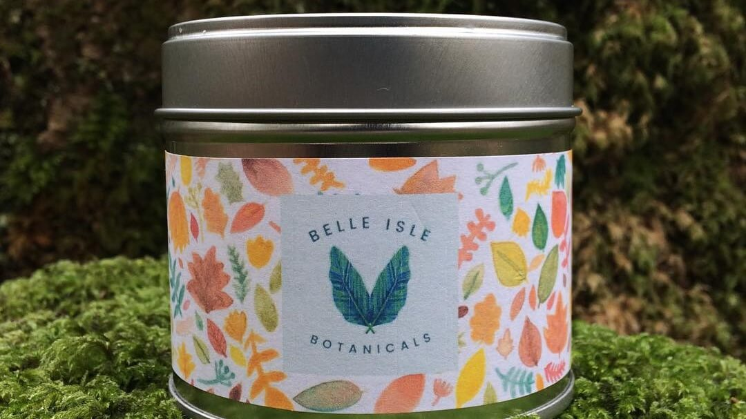 Vegan Candle Brand Belle Isle Botanicals Helps Vulnerable Women Receive Menstrual Products