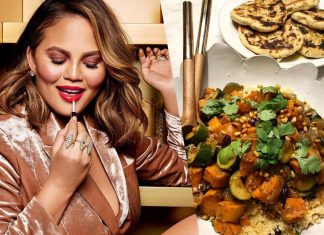 Chrissy Teigan's Vegan Couscous Was One Of the Most Popular Recipes of the Year on Instagram