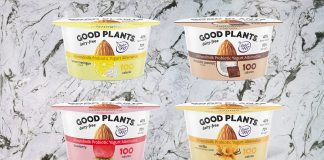 Danone Launches Vegan Probiotic Almond Light & Fit Yogurt in 4 Dairy-Free Flavors