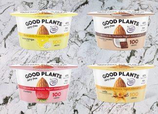 Danone Launches Vegan Probiotic Almond Light & Fit Yogurt in 4 Dairy-Free Flavors