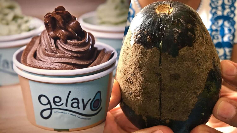 Vegan Ice Cream Brand Gelavo Makes Dairy-Free Soft-Serve From 'Imperfect' Australian Avocados