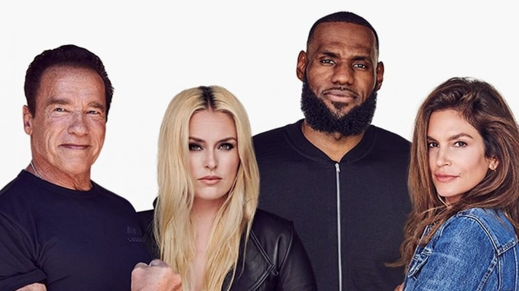 LeBron, Schwarzenegger, Lindsay Vonn, and Cindy Crawford Launch Vegan-Friendly Wellness Company